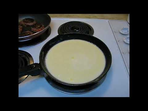 Home Made Southern Style Country Biscuits and Gravy with or without Sausage from Scratch Recipe