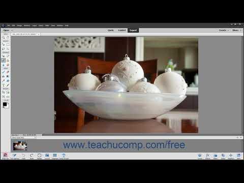 Photoshop Elements 2020 Tutorial The Expert Edit Mode Environment Adobe Training