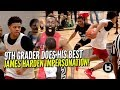 9th Grader Already Doing James Harden Moves! Keyonte George Destroying Pangos Camp!