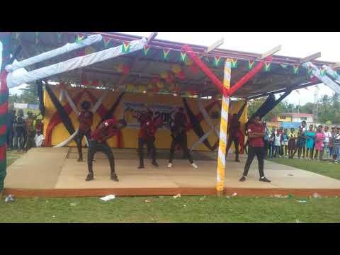 Guyana best school dance in linden
