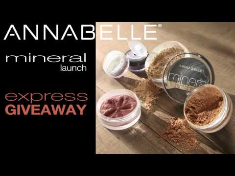 Annabelle Cosmetics - Win MINERAL product line - ENTER Constest NOW!