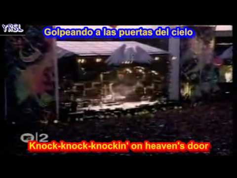Knockin' on heaven's door ( SUBTITULADAINGLES ESPAÑOL )
