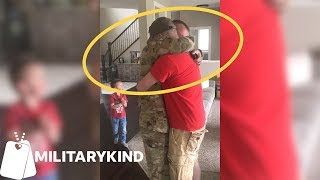 Soldier's FaceTime call has the best ending | Militarykind