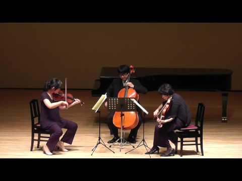 L.v.Beethoven : String Trio in E-Flat Major, Op. 3 ~ 3, 6 mov.