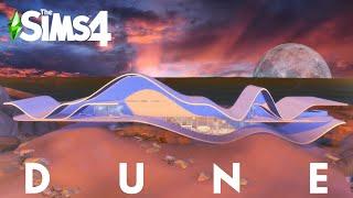 DUNE | ULTRA MODERN BEACH VILLA | The Sims 4 Speed Build | NOCC