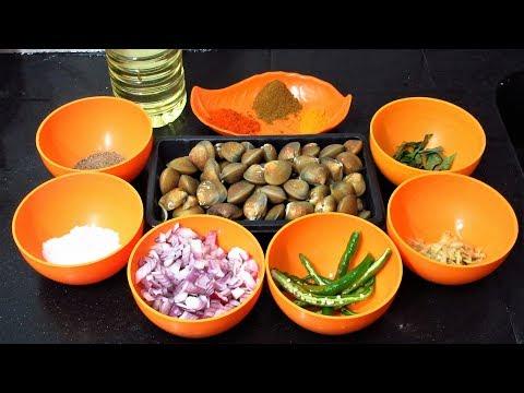 Kerala Style Clam Roast / Kakka irachi roast / Cleaning clam / / Village food cooking