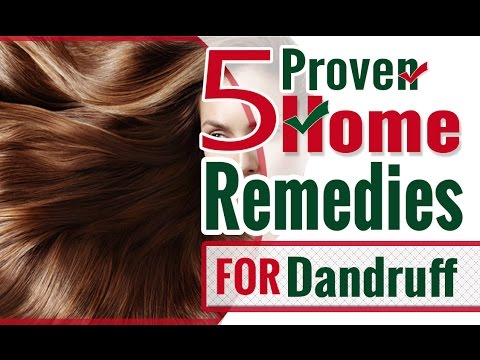Home Remedies for Dandruff - How to DIY - Simple and Easy Treatments for Dandruff - KhoobSurati.com