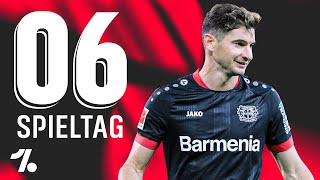 OneFootball Bundesliga Rückblick 6. Spieltag!  Commissario Alario - Der Strafraum-Schnüffler!