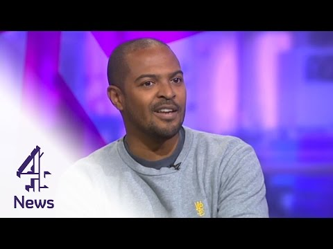Noel Clarke on diversity in television & film  | Channel 4 News