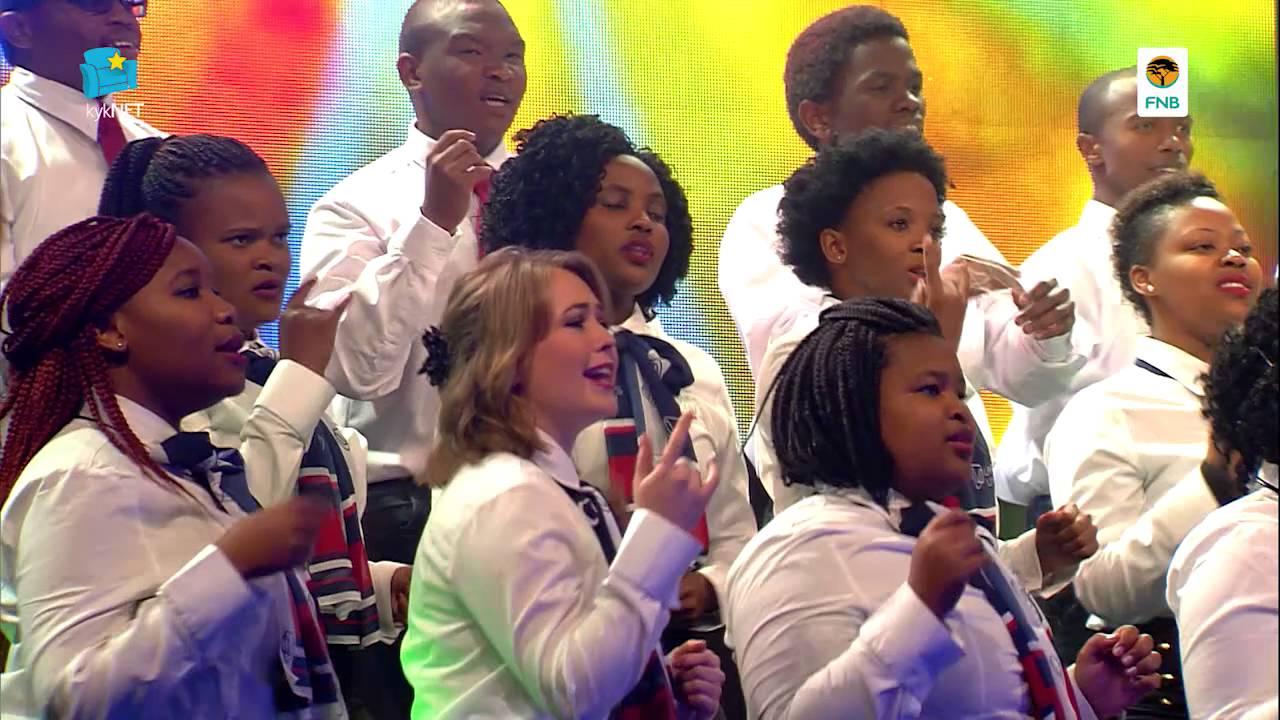 Varsity Sing: Afrika-medley #1