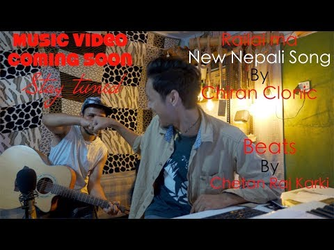 Chiran and Chetan|| making Beat at studio||The Squire at Home kitchen Cafe ||Singing Nepali Song