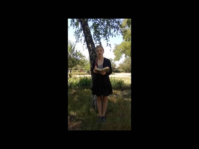 Изображение предпросмотра прочтения – МарияБукланова читает произведение «Чёрный человек» С.А.Есенина