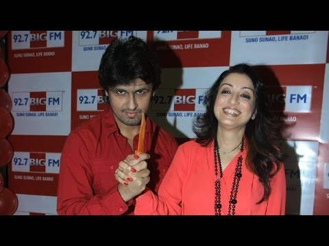 Sonu Nigam Celebrates Valentine's Day With Wife Madhurima Nigam