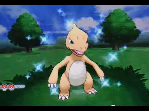shiny x and y pokemon