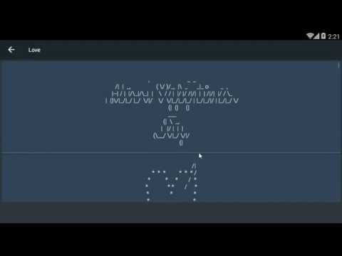 Best ASCII Text Art SMS Message Application For Android