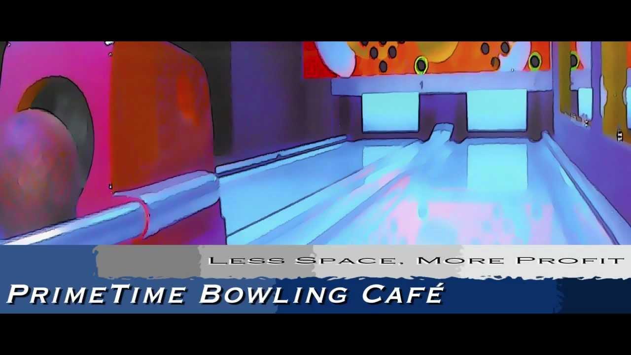 Green Bowling Café - Compact Bowling Alley Lanes - PrimeTime