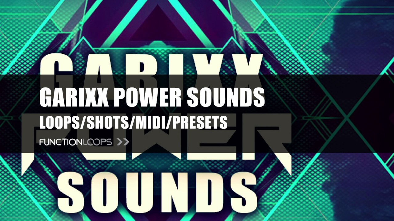 GARIXX POWER SOUNDS - Sample Pack inspired by Martin Garrix ...