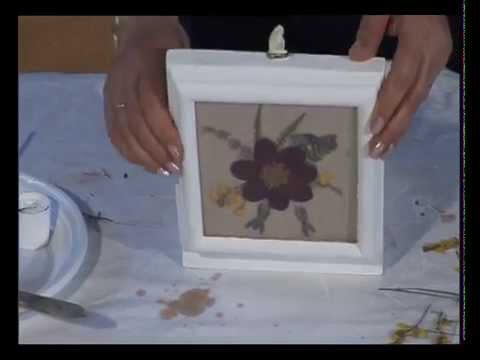 Decoracion con flores secas youtube for Como hacer adornos con plantas naturales
