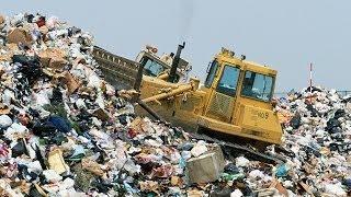видео Стеклу из пищевого мусора