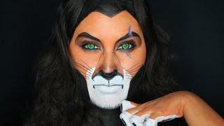 Scar Face Paint Tutorial