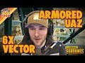 chocoTaco Has An Armored UAZ and a 6x Vector - PUBG Gameplay