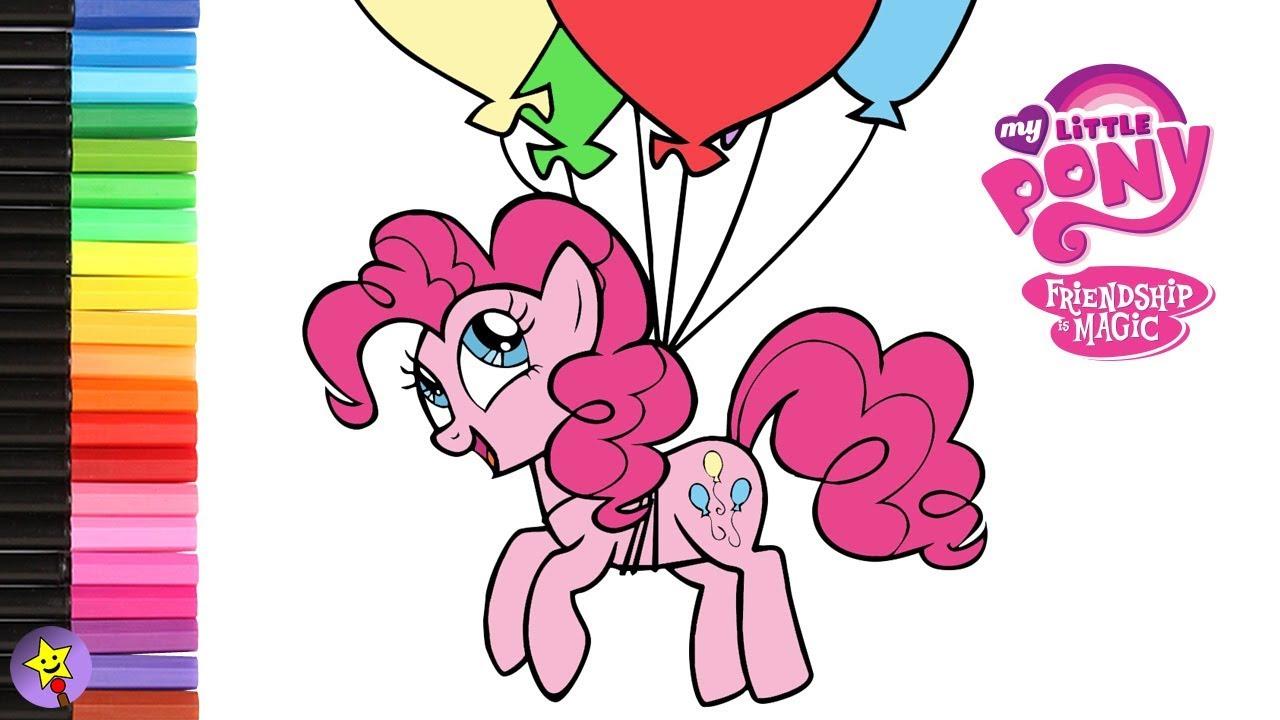 Pinkie Pie Malvorlage