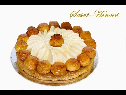 Saint Honoré con crema Chiboust