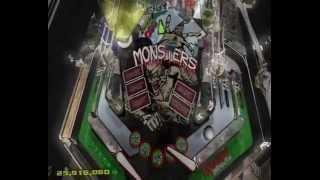 Dream Pinball 3D Monsters inc Multiball
