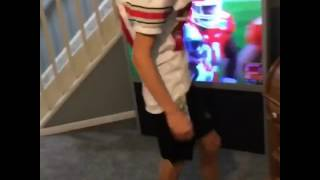 Ohio state fan reaction to Clemson loss