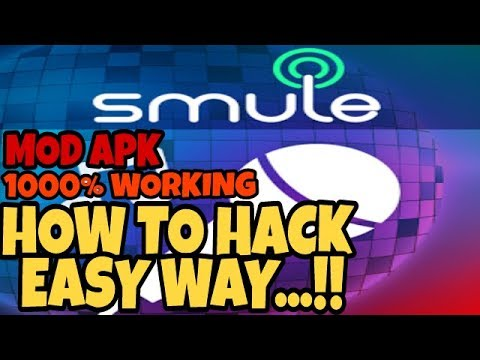 MOD APK | How to hack smile sing latest version V5.0.5 | 1000%REAL 2017 |