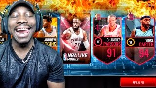 baller pack opening addressing qjb challenge nba live mobile 16 gameplay ep 93