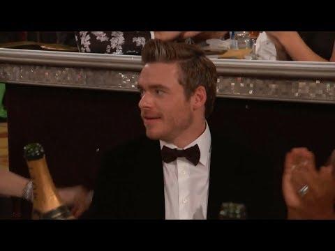 [HD] Richard Madden Wins Best TV Actor | 2019 Golden Globes