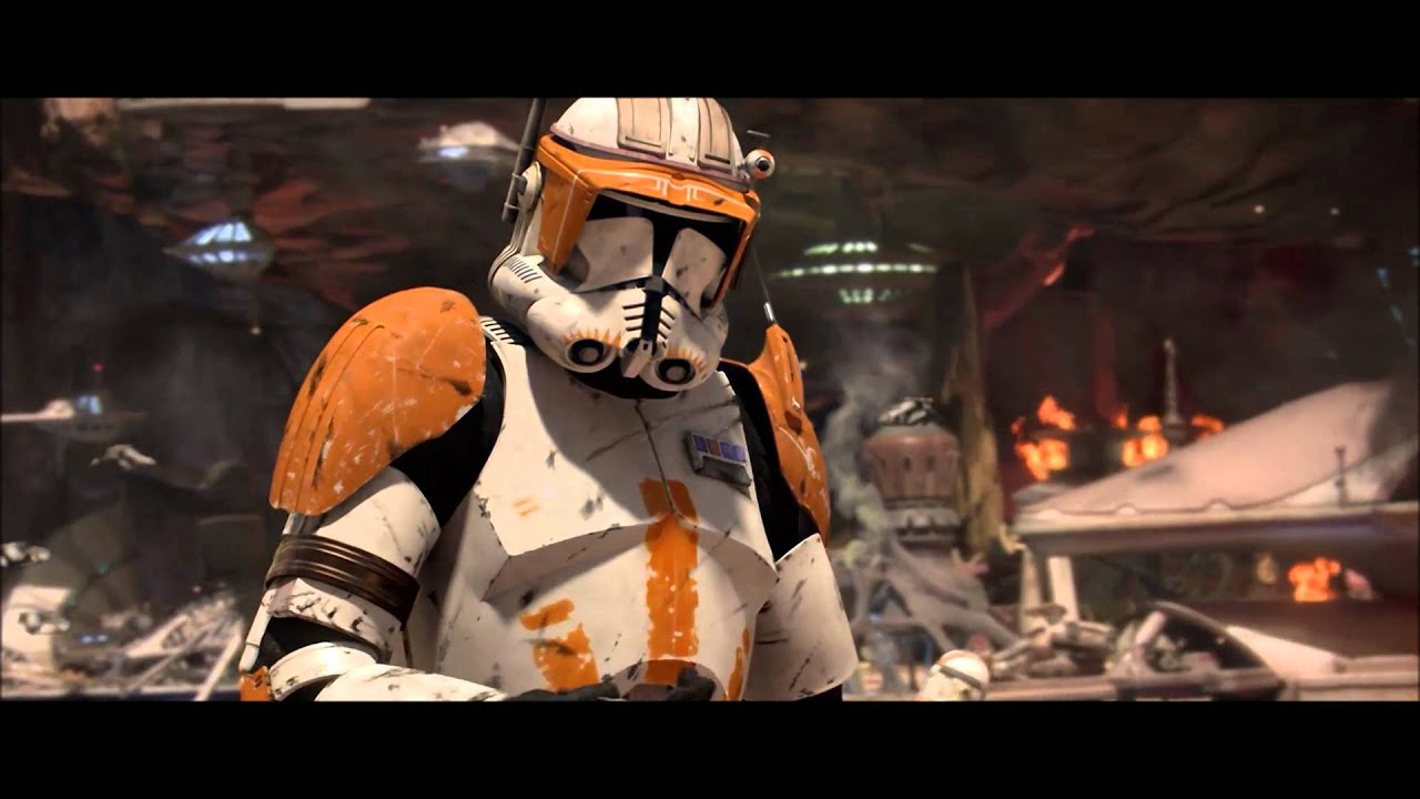 Make Own Quote Wallpaper Sw Quote Commander Cody Yes My Lord Youtube