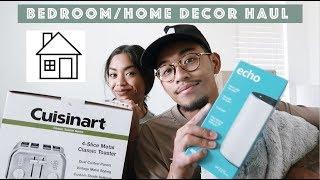 Bedroom/Home Decor Haul feat fiancé !