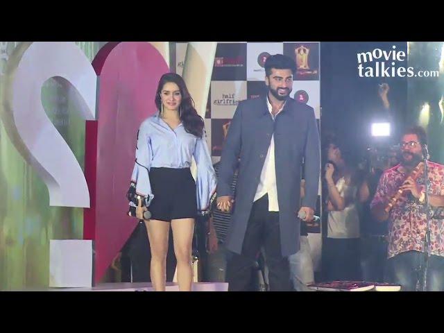 Shraddha Kapoor & Arjun Kapoor At Half Girlfriend Music Concert