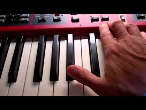 Nord Stage 2 Dual Keyboard Settings