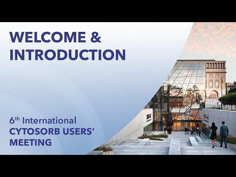 Welcome - 6th International CytoSorb Users` Meeting