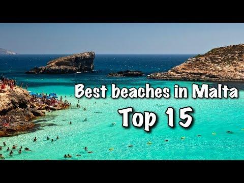 Top 15 Best Beaches In Malta, 2018