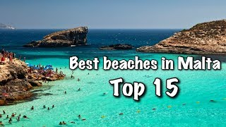 Top 15 Best Beaches In Malta, 2018