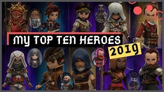 My Top 10 Hero's 2019 - Assassin's Creed Rebellion
