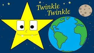 Twinkle twinkle little star nursery rhyme