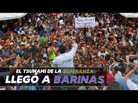 Bertucci inundó a Barinas con el tsunami de la esperanza