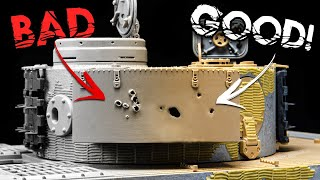 Shrapnel And Bullet Holes - The Easiest Way To Add Battle Damage To Your Model