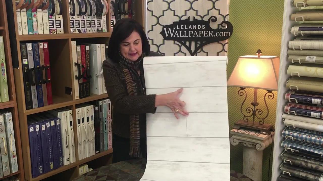 Joanna Gaines Ship Lap Wallpaper - YouTube