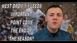 """""""AMAZING SECOND HALF IN WHICH WE FOUND THE SOLUTIONS"""" Oscar Reviews West Brom 1-1 Leeds"""