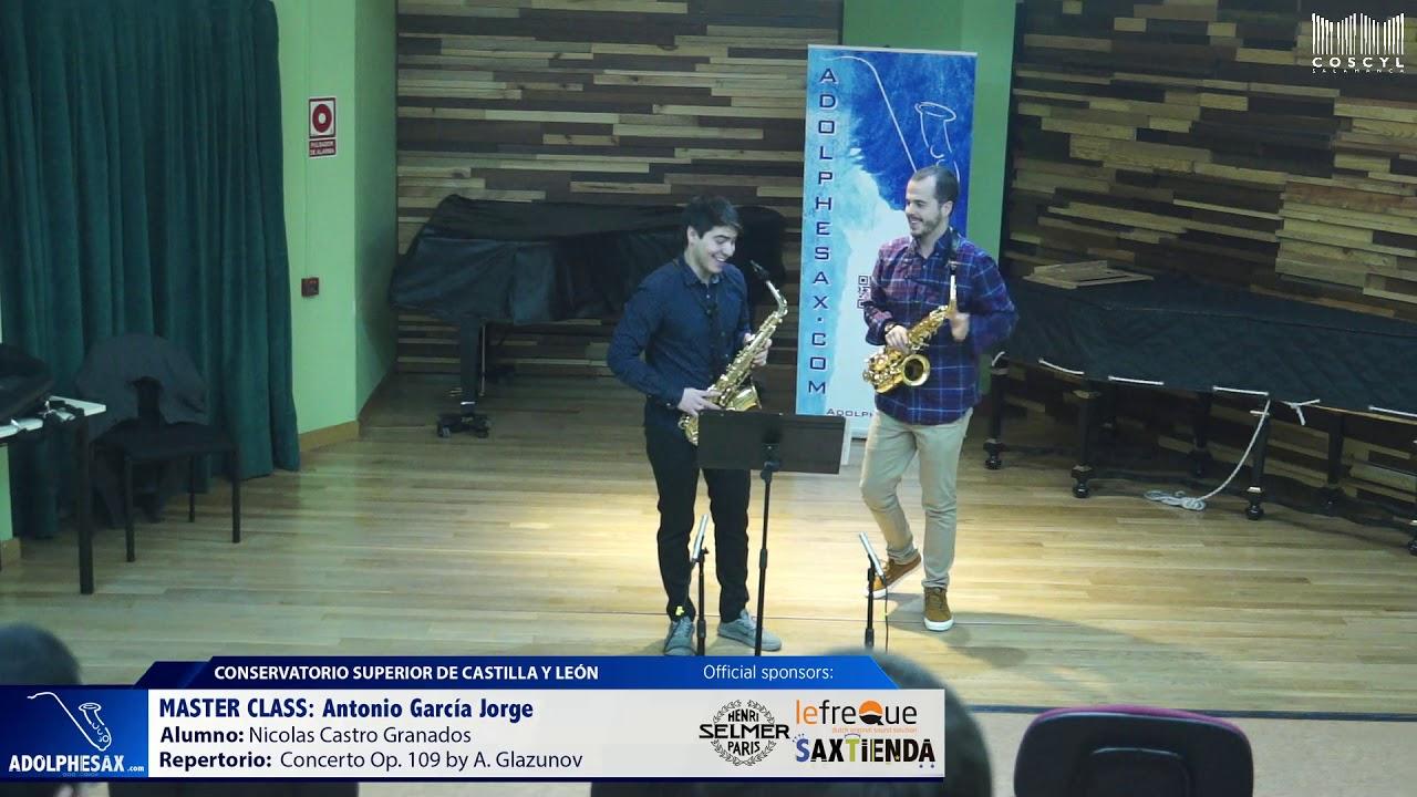MASTER CLASS - Antonio Garcia Jorge - Nicolas Castro Granados (COSCYL)