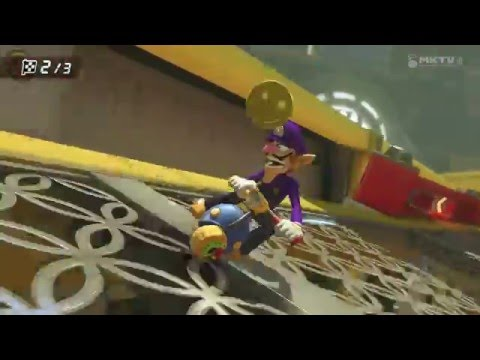 MARIO KART 8 - DS Tick Tock Clock - 150cc Lightning Cup - No Commentary