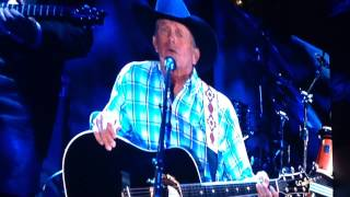"George Strait - final concert - 2014 ""You Look So Good in Love"""