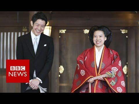 Japan's Princess Ayako surrenders her royal title - BBC News