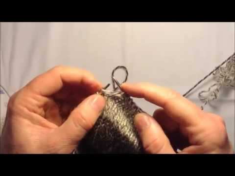 la lecon de tricot tricoter des bas en commen ant par le bout du pied youtube. Black Bedroom Furniture Sets. Home Design Ideas